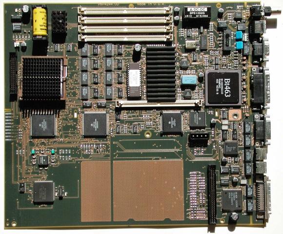 NeXT 33Mhz Mono Turbo Station Motherboard